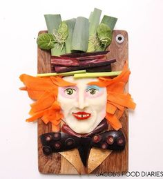 To Make My Son Eat Healthy Food, I Turn It Into His Favorite Cartoons  The Mad Hatter From Alice Through The Looking Glass