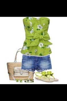 Cute summery outfits!