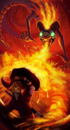 Dragon Slayer by painted-bees on deviantART | The Legend of Zelda: Ocarina of Time, Adult Link and Volvagia