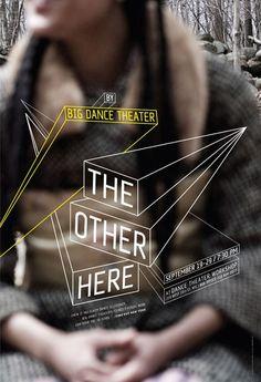 Big Dance Theater poster series