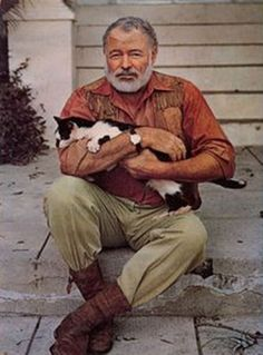 Ernest Hemingway~ Born Ernest Miller Hemingway July 21, 1899 in Oak Park, Illinois, US.Died July 2, 1961 (aged 61) in Ketchum, Idaho, US. American author and journalist. His economical and understated style had a strong influence on 20th-century fiction, while his life of adventure and his public image influenced later generations. Hemingway produced most of his work between the mid-1920s and the mid-1950s, and won the Nobel Prize in Literature in 1954.