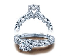 Verragio rings are gorgeous. This one is my fav