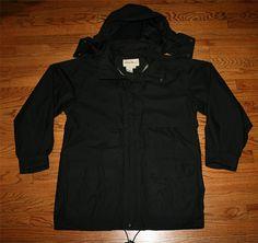 dcb21c2b4934 EDDIE BAUER GORE-TEX Waterproof Rain JACKET ventilated hooded Coat - Men s  Medium - FREE