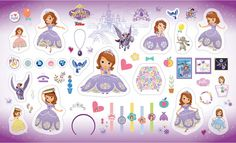 Check out this item in my Etsy shop https://www.etsy.com/listing/384412736/disney-sofia-the-first-character-fabric