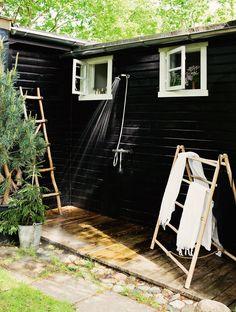 Casa de Verano Escandinava Llena de Detalles