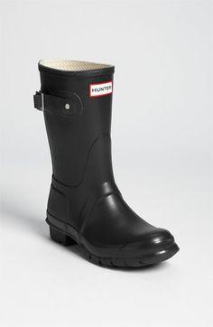 Hunter 'Original Short' Rain Boot available at #Nordstrom