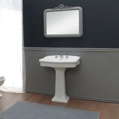 Lavabo con colonna 72x59 cm Old Italy Sink, Italy, Home Decor, Sink Tops, Vessel Sink, Italia, Decoration Home, Room Decor, Vanity Basin