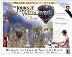 The Journey to the Wild Divine The Passage Mac PC 2003 Biofeedback Complete NM
