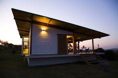 Diseño de casa muy pequeña de madera | Construye Hogar