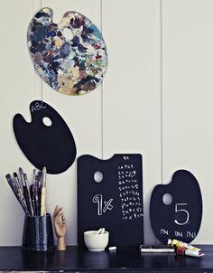 blackboard palette   Book Review: The Homemade Home for Children - Urban Comfort