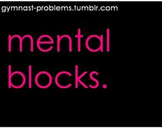 Gymnast problems- hate this I almost never got my tuck because of this