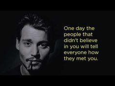 10 Inspiring Quotes By Johnny Depp. [video] Inspiring Quotes, Love Quotes, Motivational Quotes, Quotes By Famous People, Famous Quotes, Johnny Depp Quotes, Johny Depp, Captain Jack Sparrow, Quotations