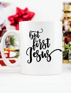 But First Jesus Mug
