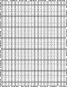 Free Download Square Stitch Or Loom Graph Paper  Beading