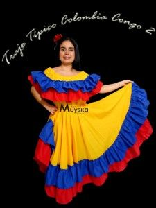 Colombian People, Colombian Culture, Country Costumes, Carnival Dress, Girl Scouts, Gowns, Disney Princess, How To Wear, Color