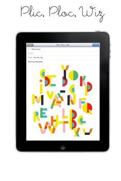 Illustration app for iPad