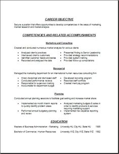 market research analyst resume format