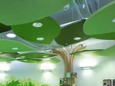 ACOUSTIC CEILING CLOUDS ECOPHON SOLO™ BY SAINT-GOBAIN ECOPHON