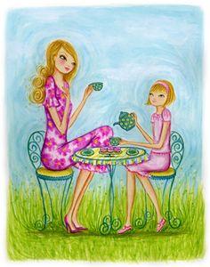 tea party, bella pilar