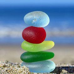 Sea Glass & Long Summer Days - I heart you both❤️