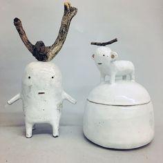 All white / ceramics - g de rosamel