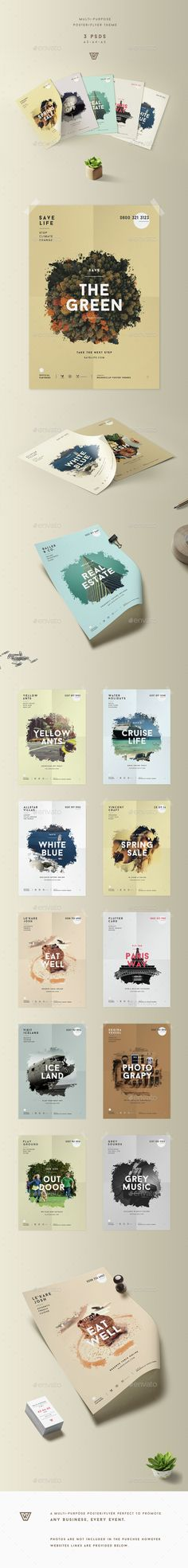 Creative Promotional Poster / PSD Flyer  Template • Only available here ➝ http://graphicriver.net/item/creative-promotional-poster-flyer/15131152?ref=pxcr