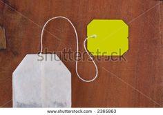 Tea Bag Bag On Wood Background Stock Photo 2365863 : Shutterstock