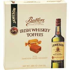 TOPSELLER! Butlers Jameson Irish Whiskey Toffees $5.50