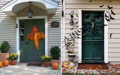 déco-Halloween-jardin-idées-chauve-souris-citrouille Déco Halloween pour le jardin