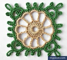 MyPicot | Free crochet patterns, Looks pretty in blue and white.