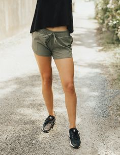 NEW!!! Our classic running shorts are NOW available in SAGE GREEN! They are cozy, slimming, sporty and provide an adjustable drawstring tie. Great for working out, hanging out AND going out! Check them out along with the rest of our NEW Sage Collection on our New Arrivals Page at albionfit.com | @albionfit