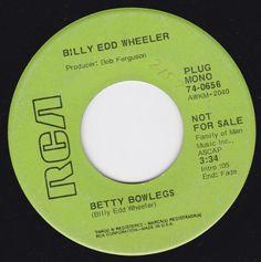 "Betty Bowlegs/Does Mel Tillis Really Stutter (7"" DJ/45 Rpm) RCA VICTOR 74-0656 http://www.amazon.com/dp/B00INY6YR8/ref=cm_sw_r_pi_dp_TkFNvb0H3E1BC"
