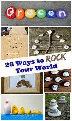 Kids collect them by the dozen - now it's time to craft, create and explore with stones & pebbles!