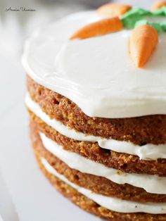 The best carrot cake ever! Delicious Cake Recipes, Yummy Cakes, Yummy Treats, Sweet Treats, Yummy Food, Best Carrot Cake, Easy Baking Recipes, Frosting Recipes, Desert Recipes