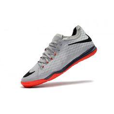 New Nike HypervenomX Finale II IC Mens Grey Orange Football Shoes Online 4adfed08d106c