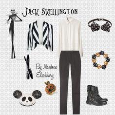 """""""Jack Skellington"""" by nardeenelsokkary on Polyvore"""