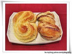 椰子麵包&花生榛果巧克力麵包