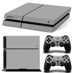 Classic PS4 Skin Decal Cover 2 Controller Decals Sony Free Shipping - NY Stop Shop