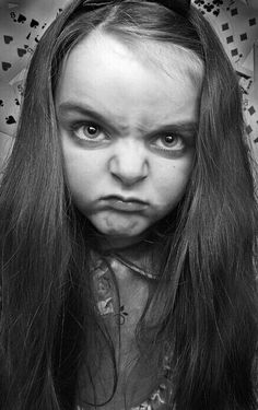 a Wednesday face. Mad Face, Angry Face, Face Reference, Photo Reference, Photo Portrait, Portrait Photography, Angry Child, Angry Girl, Making Faces