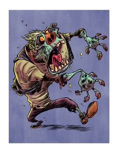 I Hate Zombies: Hero Zombie by RobbVision.deviantart.com on @deviantART