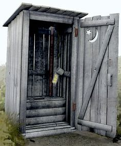 civil war outhouse | Outhouse shahada