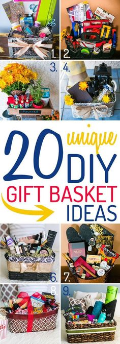 These ideas for a DIY gift basket are unique, and packed with tips from the experts at Wine Country Gift Baskets. #wineglasswriter