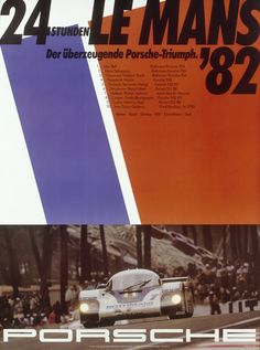 1982 racing poster
