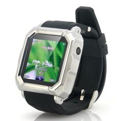 GSM Quad Band Touch Screen Wrist Watch