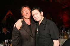 Two great songwriters - Weller and Shane MacGowan in 2005. Maybe the smell of whisky is making Weller pull his head away? Look at pictures of any early Jam gig in London and invariably Shane will be at the front in his Union Jack suit.