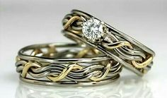Wonderful Snap Shots Unusual Wedding Rings Designs Thoughts Are you looking fo. Wonderful Snap Shots Unusual Wedding Rings Designs Thoughts Are you looking for inexpensive wedding rings? Gothic Wedding Rings, Unusual Wedding Rings, Elegant Wedding Rings, Handmade Wedding Rings, Antique Wedding Rings, Wedding Ring Designs, Wedding Rings For Women, Unique Rings, Wedding Bands