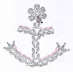 Crochet anchor pattern