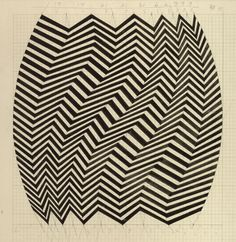It was around this time that the term 'Op Art' entered the public consciousness. Op Art captured the imagination of the public and became part of the swinging sixties. The fashion, design and advertising industries fell in love with its graphic, sign-like patterns and decorative value. Op Art was cool, and Bridget Riley became Great Britain's number one art celebrity.