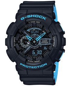 online shopping for Casio Men's G-Shock Black Watch from top store. See new offer for Casio Men's G-Shock Black Watch Casio G-shock, Casio Watch, Casio G Shock Watches, Timex Watches, Sport Watches, Men's Watches, Wrist Watches, Jewelry Watches, Analog Watches