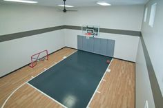Indoor Sport Court | Creek Hill Custom Homes MN